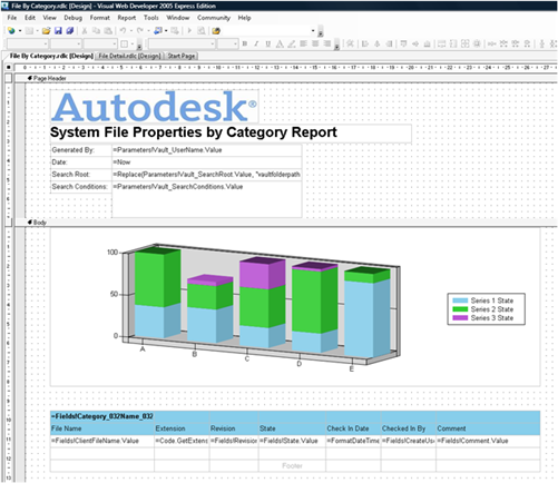 Autodesk Vault Report Template Authoring - Under The Hood