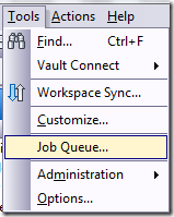 tools-Job queue
