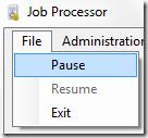 job pause resume