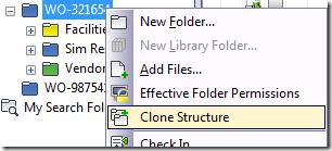 Clone Structure