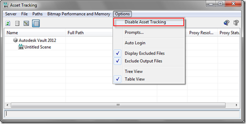 enable asset tracking