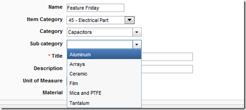 Feature Friday: Filtered Pick Lists in PLM 360 - Under the Hood