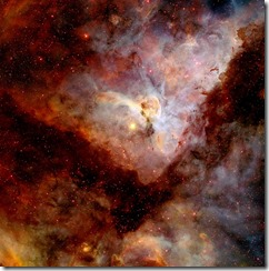 "NASA image release April 23, 2010 Object Names: Carina Nebula, NGC 3372 Image Type: Astronomical Credit: NASA/N. Smith (University of California, Berkeley) and NOAO/AURA/NSF To read learn more about this image go to:  http://www.nasa.gov/mission_pages/hubble/science/hubble20th-img.html <b><a href=""http://www.nasa.gov/centers/goddard/home/index.html"" rel=""nofollow"">NASA Goddard Space Flight Center</a></b>  is home to the nation's largest organization of combined scientists, engineers and technologists that build spacecraft, instruments and new technology to study the Earth, the sun, our solar system, and the universe."