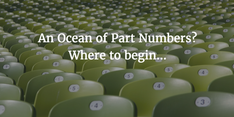 Ocean of Part Numbers