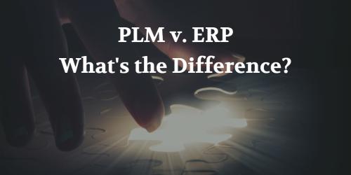 PLM v ERP Pic